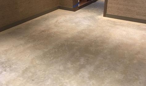 Diamond Buff concrete floor